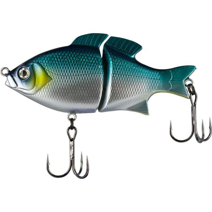 Воблер Tsuribito Pike Hunter S, цвет: бирюзовый, серый (572), длина 95 мм, вес 22,5 г43226Классический воблер, подходящий для ловли разнообразной рыбы. Особенно хорошо проявляет свои качества при медленных проводках. При падении воблер очень хорошо играет, тем самым привлекая к себе внимание рыбы. Обладает хорошими полетными качествами. Фирма-производитель гарантирует высокую степень поклевки при работе с приманками этой серии.