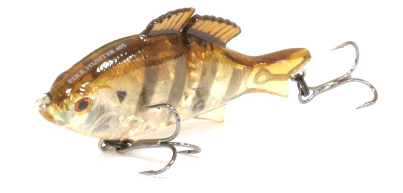 Воблер Tsuribito Pike Hunter S, цвет: желтый, черный (008), длина 95 мм, вес 22,5 г