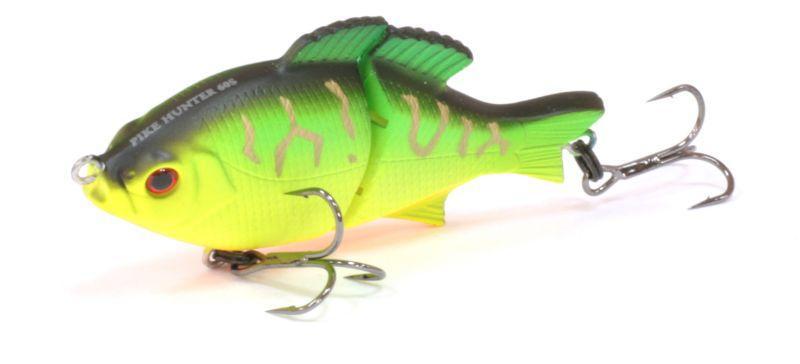 Воблер Tsuribito Pike Hunter S, цвет: зеленый (028), длина 95 мм, вес 22,5 г