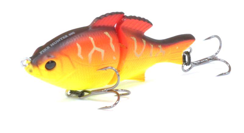 Воблер Tsuribito Pike Hunter S, цвет: желтый, оранжевый (029), длина 95 мм, вес 22,5 г