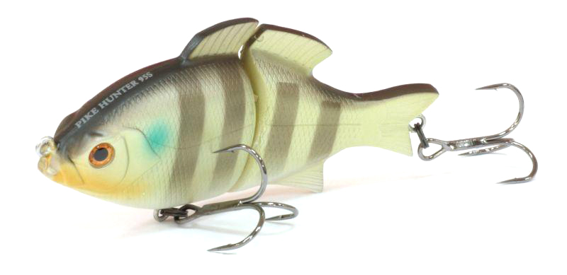 Воблер Tsuribito Pike Hunter S, цвет: болотный, салатовый (091), длина 95 мм, вес 22,5 г