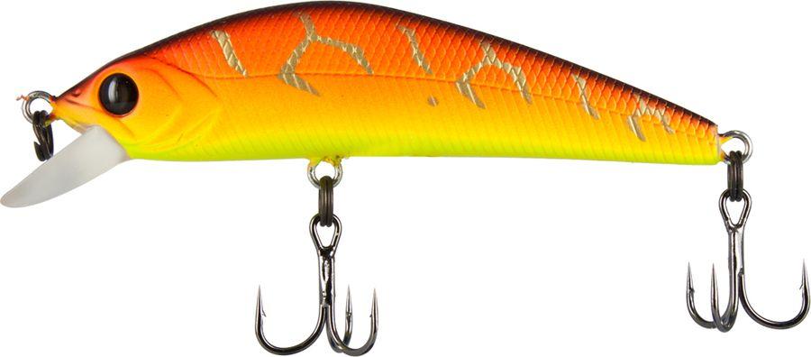 Воблер Tsuribito Masu Tsuri S, цвет: желтый, оранжевый (029), длина 65 мм, вес 6 г45264Тонущий воблер серии «MASU TSURI» обладает прекрасными дальнобойными качествами. Сочетание компактности с довольно приличным весом воблера позволяет забросом добросить до осторожной стаи окуня или жереха. Дает прекрасные результаты ловли на речных перекатах.Какая приманка для спиннинга лучше. Статья OZON Гид