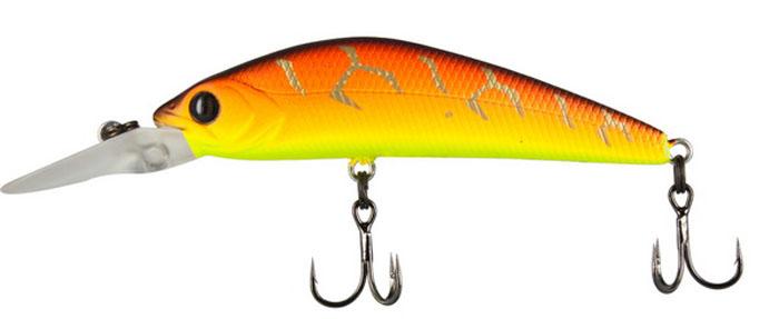 Воблер Tsuribito Live Minnow S, цвет: желтый, оранжевый (029), длина 65 мм, вес 8 г воблер tsuribito baby shark f цвет 029 70 мм