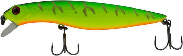 Воблер Tsuribito Dead Minnow SS, цвет: зеленый (028), длина 70 мм, вес 7,5 г70194Популярная серия твичинговых воблеров Tsuribito Dead Minnow, ранее представленная лишь в одном размере 90F, с конца 2014 года стала выпускаться в размерах 70 мм, причем сразу же в 3-х версиях: плавающей (F), суспендер (SP) и медленно-тонущей (SS), что существенно расширяет возможности искушенных рыболовов, нацеленных на поимку трофейных хищников. Tsuribito Dead Minnow 70SS обладает очень реалистичной игрой. При ловле твичингом отлично имитирует подраненную рыбку, что провоцирует даже сытого хищника. Относительно небольшая рабочая глубина медленно тонущей версии позволяет ловить даже на мелководных и заросших травой участках, где часто охотится щука и окунь.Какая приманка для спиннинга лучше. Статья OZON Гид