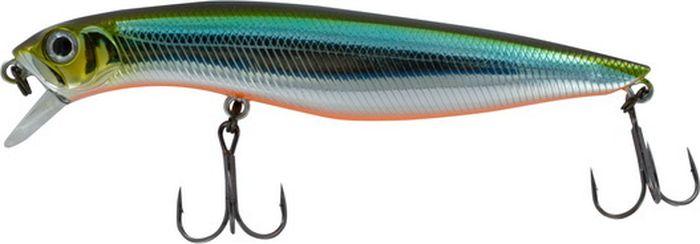 Воблер Tsuribito Dead Minnow SS, цвет: бирюзовый, серый (504), длина 70 мм, вес 7,5 г