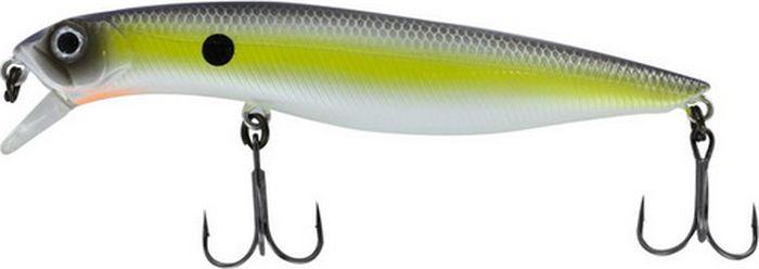 Воблер Tsuribito Dead Minnow F, цвет: лимонный, серый (079), длина 70 мм, вес 4,6 г70225Tsuribito Dead Minnow- классический воблердля рыбалкина хищную рыбу в прибрежной зоне. За счет длинного тела, приманка обладает хорошей игрой при проводке, привлекая внимание рыбы. Кроме того,воблер идеально подходит для выполнения точных забросов на дальние расстояния в открытых водоемах.Какая приманка для спиннинга лучше. Статья OZON Гид