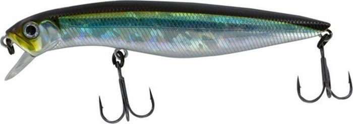 Воблер Tsuribito Dead Minnow SS, цвет: зеленый, серебристый (005), длина 110 мм, вес 19,1 г70318Классический воблер, предназначенный для ловли хищников в прибрежной зоне. Наиболее эффективно приманка проявляет себя при заглублении в воде до 30 сантиметров. Обладает хорошей игрой при проводках, привлекая внимание рыбы. Воблер подходит для выполнения точных забросов на дальние расстояния. В конструкции применены современные мощные тройники с острой заточкой, которые способствуют надежной подсечке рыбы.Какая приманка для спиннинга лучше. Статья OZON Гид
