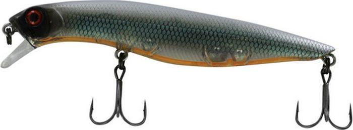 Воблер Tsuribito Dead Minnow SS, цвет: черный (535), длина 110 мм, вес 12 г70338Классический воблер, предназначенный для ловли хищников в прибрежной зоне. Наиболее эффективно приманка проявляет себя при заглублении в воде до 30 сантиметров. Обладает хорошей игрой при проводках, привлекая внимание рыбы. Воблер подходит для выполнения точных забросов на дальние расстояния. В конструкции применены современные мощные тройники с острой заточкой, которые способствуют надежной подсечке рыбы.