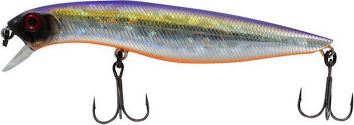 Воблер Tsuribito Dead Minnow SP, цвет: фиолетовый, желтый, серый (072), длина 70 мм, вес 5 г70453Приманка, интенсивно играющая под самой поверхностью при медленной проводке. Незаменима на мелководье для ловли мелкой щуки или окуня. Серия Dead Minnow обладает очень реалистичной игрой. Прекрасно имитирует подраненную рыбу, что привлекает внимание даже сытого хищника. Небольшое заглубление позволяет ловить на мелководье и заросших водорослями участках.Какая приманка для спиннинга лучше. Статья OZON Гид
