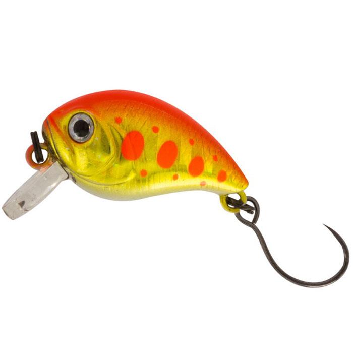 Воблер Tsuribito Baby Crank F-SR, цвет: желтый, красный (514), длина 25 мм, вес 3,1 г воблер tsuribito baby shark f цвет 029 70 мм