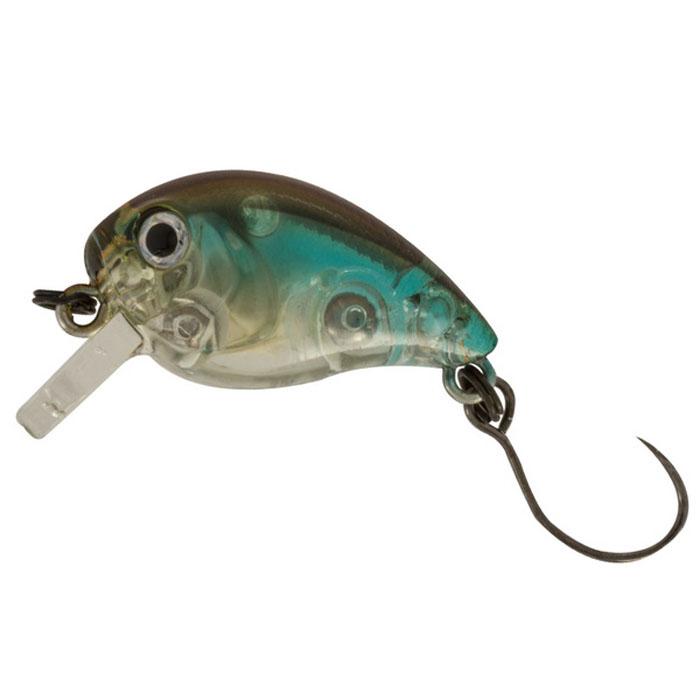 Воблер Tsuribito Baby Crank F-SR, цвет: серый, голубой (516), длина 25 мм, вес 3,1 г