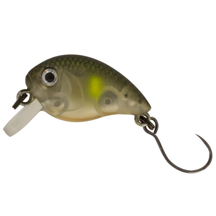 Воблер Tsuribito Baby Crank F-SR, цвет: серый (526), длина 25 мм, вес 3,1 г воблер tsuribito baby shark f цвет 029 70 мм