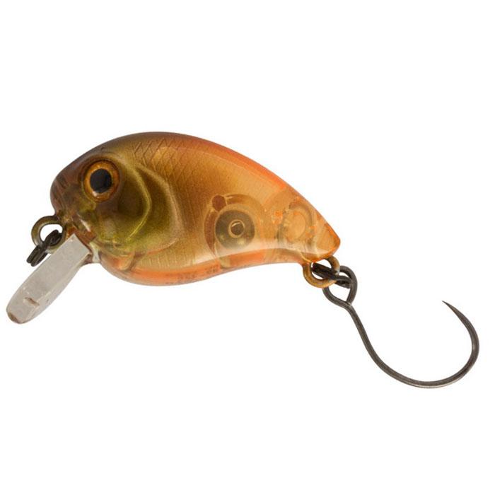 Воблер Tsuribito Baby Crank F-SR, цвет: оранжевый (529), длина 25 мм, вес 3,1 г