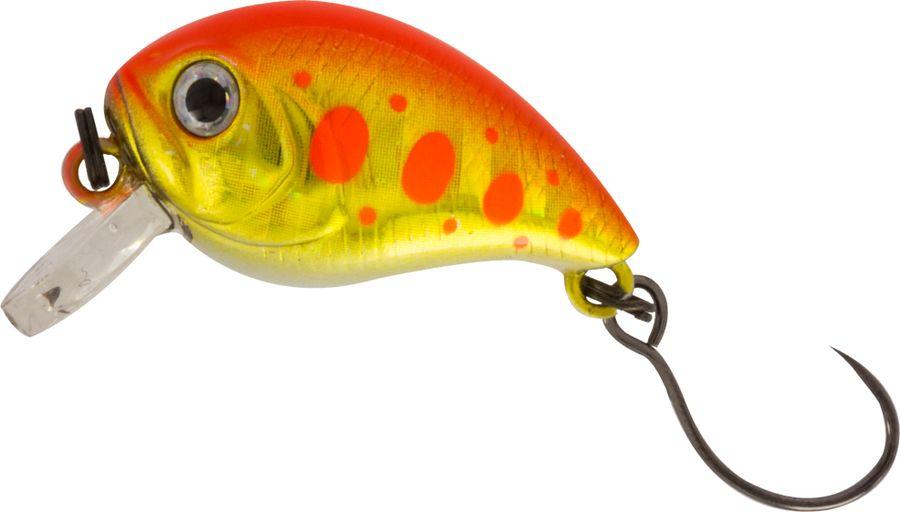Воблер Tsuribito Baby Crank S-SR, цвет: желтый, красный (514), длина 25 мм, вес 3,4 г70481Tsuribito Baby Crank 25– отличный выбор для рыбалки в разное время года. Воблер подходит для любого вида рыбы. Кроме того прекрасно работает на открытых водоемах при течении. Легкость и небольшой объем данной приманки позволит привлечь внимание рыбы за долгое расстояние. Более того цветовая гамма настолько разнообразна, что Вы сможете подобрать цвет воблера в зависимости от погоды, цвета водоема или освещенности.