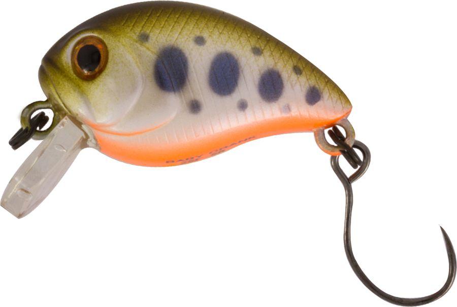 Воблер Tsuribito Baby Crank S-SR, цвет: желтый, оранжевый (520), длина 25 мм, вес 3,4 г