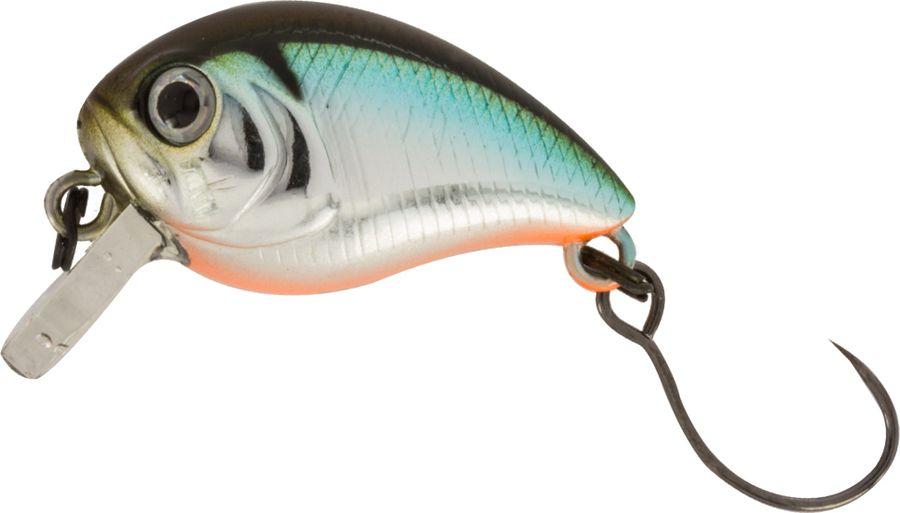 Воблер Tsuribito Baby Crank S-SR, цвет: бирюзовый, черный (521), длина 25 мм, вес 3,4 г70489Tsuribito Baby Crank 25– отличный выбор для рыбалки в разное время года. Воблер подходит для любого вида рыбы. Кроме того прекрасно работает на открытых водоемах при течении. Легкость и небольшой объем данной приманки позволит привлечь внимание рыбы за долгое расстояние. Более того цветовая гамма настолько разнообразна, что вы сможете подобрать цвет воблера в зависимости от погоды, цвета водоема или освещенности.Какая приманка для спиннинга лучше. Статья OZON Гид