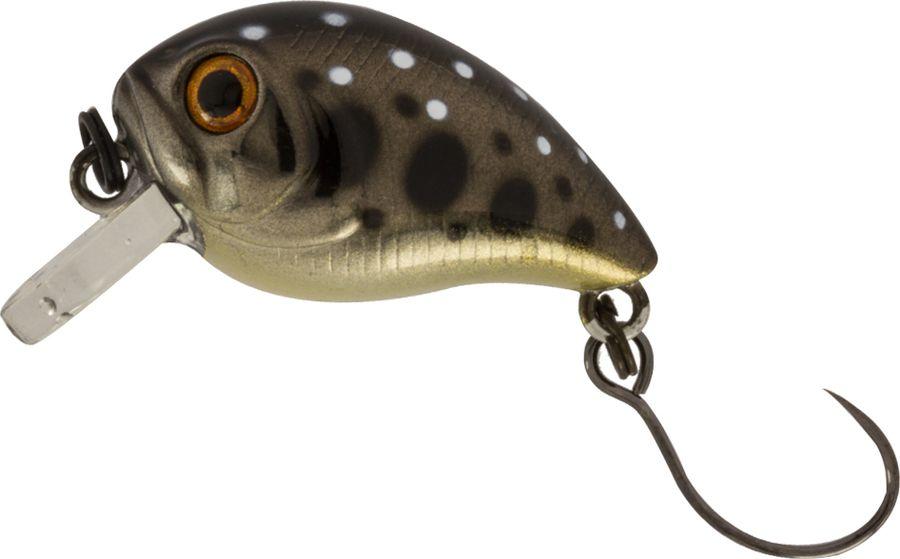 Воблер Tsuribito Baby Crank S-SR, цвет: темно-серый (523), длина 25 мм, вес 3,4 г