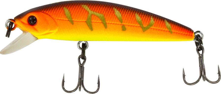 Воблер Tsuribito Minnow SS, цвет: желтый, оранжевый (029), длина 50 мм, вес 4,5 г