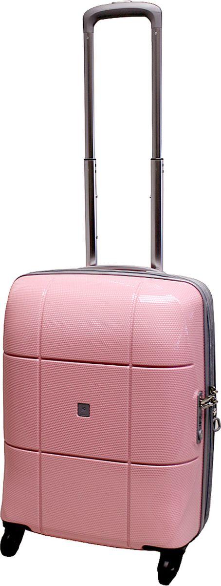 Чемодан на колесах Echоlac, цвет: розовый, 42 л. 080-20PCS080-20PCSЧемодан на колесах Echоlac, коллекция АТЛАС. - Компактный и легкий. Служит незаменимым спутником для деловых поездок и кратковременных путешествий.- Произведен из поликарбоната, что является гарантом прочности, надёжности и долговечности.- 4 колеса японского производителя HINOMOTO, вращающиеся на 360°, придают маневренности и распределяют нагрузку равномерно. А также избавят вашу руку от излишней нагрузки. - Функциональный: имеет вместительное отделение с прижимными ремнями и перегородкой с дополнительными карманами. - Надежный: уникальный двойной зип (молния) и встроенный кодовый замок с функцией TSA защитят ваши вещи от кражи.Материал: поликарбонат Вес: 2,8 кг. Объем 42 л.