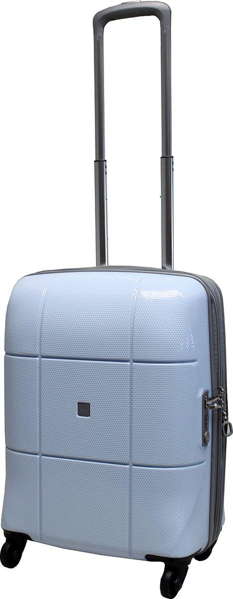 Чемодан на колесах Echоlac, цвет: голубой, 42 л. 080-20PCS080-20PCSЧемодан на колесах Echоlac, коллекция АТЛАС. - Компактный и легкий. Служит незаменимым спутником для деловых поездок и кратковременных путешествий.- Произведен из поликарбоната, что является гарантом прочности, надёжности и долговечности.- 4 колеса японского производителя HINOMOTO, вращающиеся на 360°, придают маневренности и распределяют нагрузку равномерно. А также избавят вашу руку от излишней нагрузки. - Функциональный: имеет вместительное отделение с прижимными ремнями и перегородкой с дополнительными карманами. - Надежный: уникальный двойной зип (молния) и встроенный кодовый замок с функцией TSA защитят ваши вещи от кражи.Материал: поликарбонат Вес: 2,8 кг. Объем 42 л.Как выбрать чемодан. Статья OZON Гид