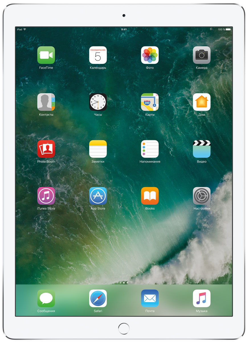 Apple iPad Pro 12.9  Wi-Fi 64GB, Silver - Планшеты