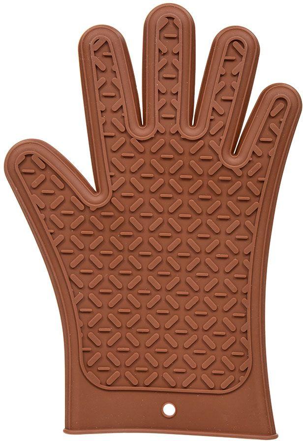 Перчатка термостойкая Marmiton, силиконовая, 27,5 х 18,5 см17209Необыкновенно мягкая перчатка Marmiton из прочного силикона защитит ваши руки от возможных ожогов. Универсальна форма прихватки дает возможность использовать ее как правой, так и левой рукой. Использовать при температуре от -40C до 230C. Не использовать на открытом огне! Можно мыть и сушить в посудомоечной машине.