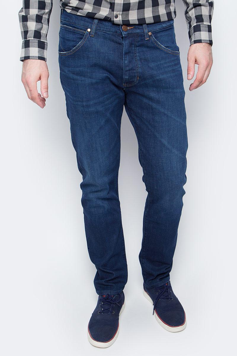 Джинсы мужские Wrangler, цвет: синий. W16ECJ027. Размер 34-34 (50-34) каталог sia
