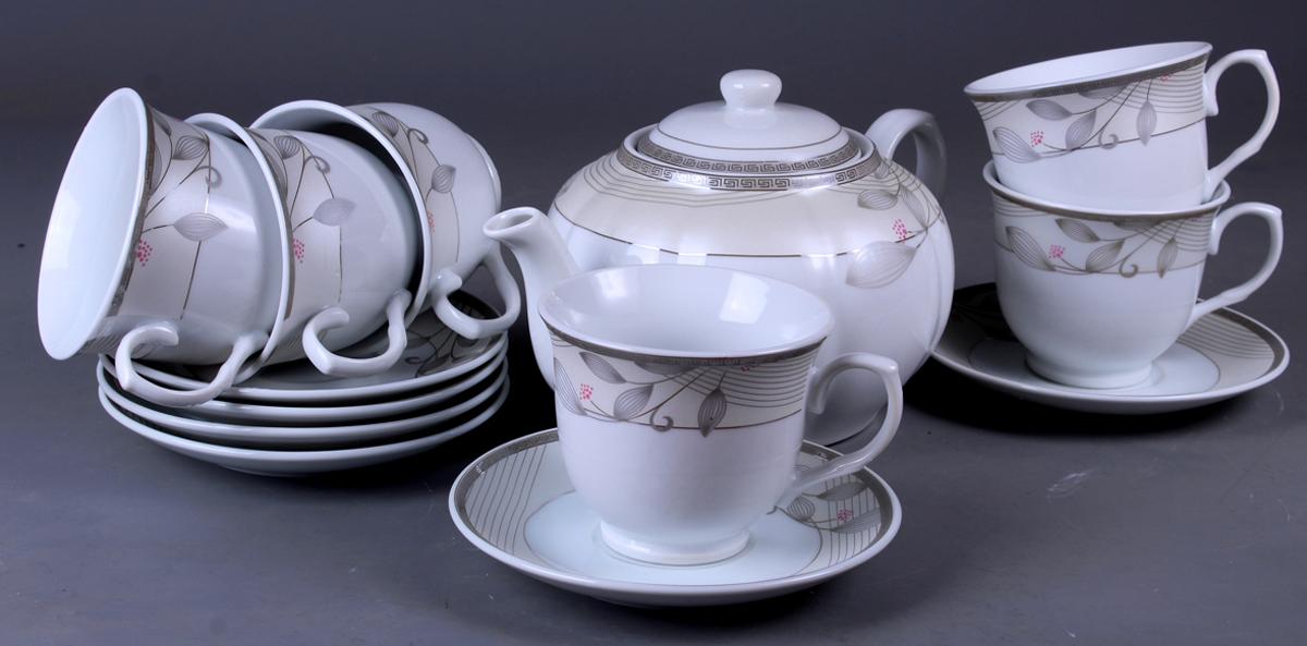 Набор чайный Olaff, 13 предметов. SCS-13QWB-013 набор чайный patricia даймонд 12 предметов im11348