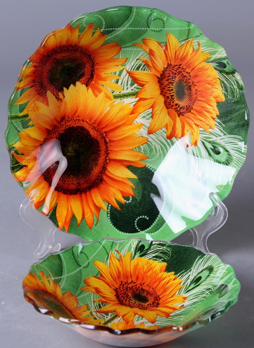 Набор салатников Olaff Цветы, 2 предмета. ZY-MD-TEXRW-787 фруктовница olaff цветы 2 яруса zy md ecyb 794