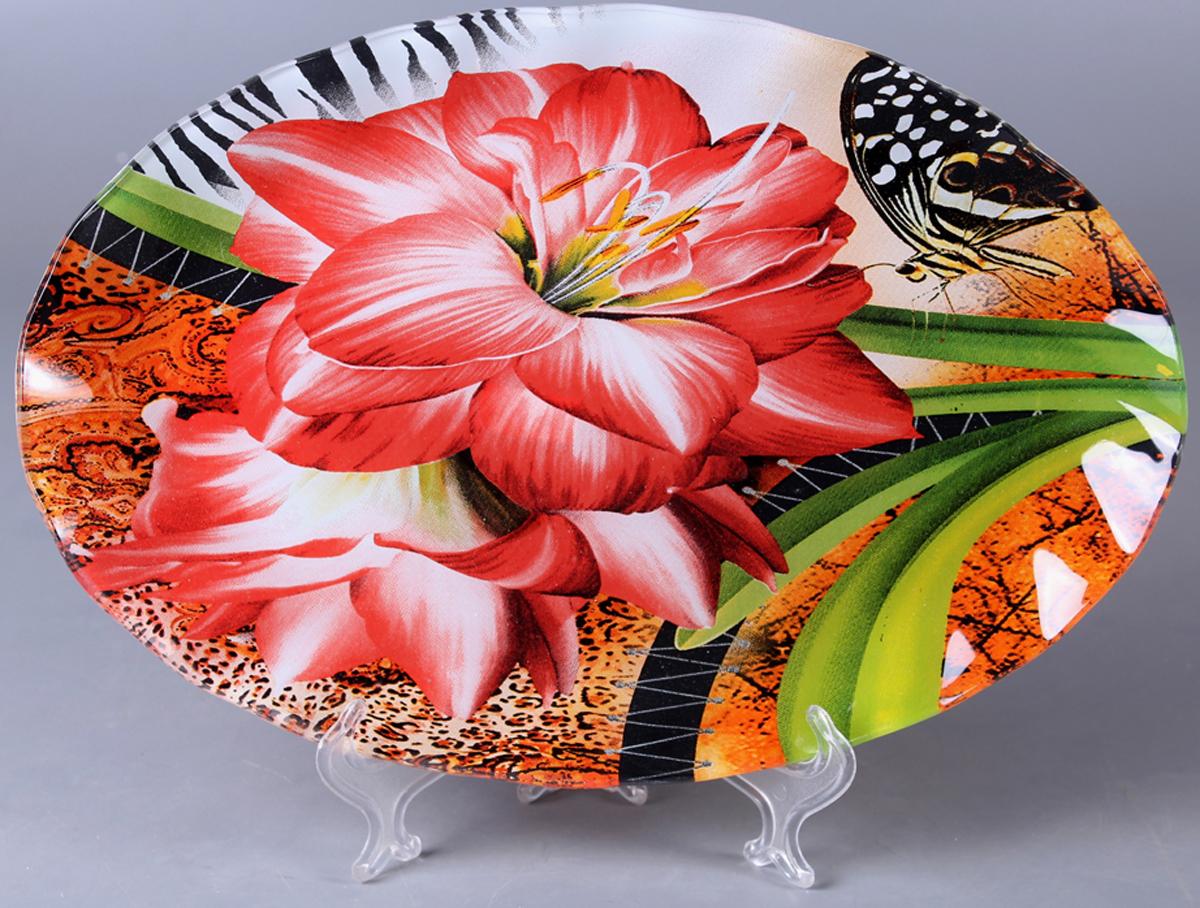 Блюдо Olaff Цветы. ZY-MD-TEYB1-794 фруктовница olaff цветы 2 яруса zy md ecyb 794