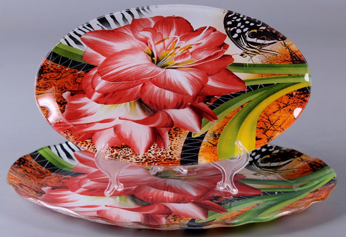 Набор блюд Olaff Цветы, 2 предмета. ZY-MD-TEYB2-794 фруктовница olaff цветы 2 яруса zy md ecyb 794