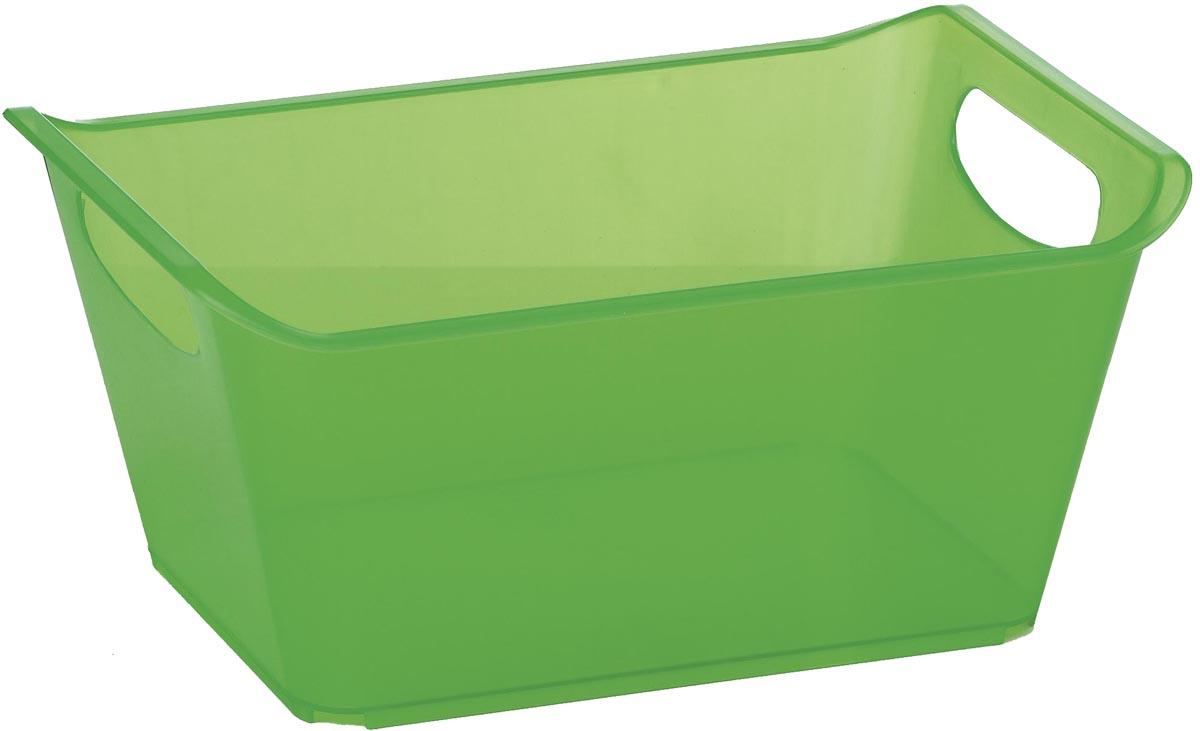 Контейнер Gensini, цвет: зеленый, 10 л3332_зеленыйКонтейнер Gensini выполнен из прочного пластика. Он предназначен для хранения различных мелких вещей в ванной, на кухне, даче или гараже, исключая возможность их потери. По бокам контейнера предусмотрены две удобные ручки для его переноски.Контейнер поможет хранить все в одном месте, а также защитить вещи от пыли, грязи и влаги. Объем: 10 л.Размер контейнера: 36 х 25 х 15 см.