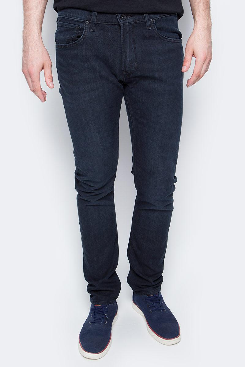 Джинсы мужские Lee, цвет: синий. L719AAEC. Размер 30-32 (46-32) джинсы мужские lee daren zip fly цвет светло синий l707acdk размер 30 32 46 32