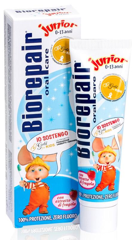 Biorepair детская зубная паста (клубника) Junior Strawberry for Kids, 50 мл босоножки primadonna primadonna pr759awvii29