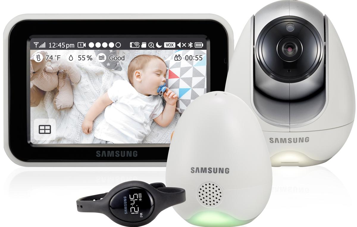 Samsung SEW-3057WP Видеоняня цвет белый - Безопасность ребенка