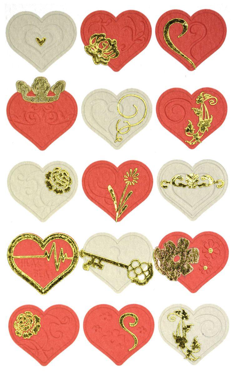 Avery Zweckform Набор наклеек Сердца 15 шт57025Специальная серия самоклеящихся этикеток вдохновляет на яркие идеи! Яркие цвета, качественная бумага, необычный дизайн не оставят равнодушными всех любителей самоклеящихся стикеров.Наклейки Сердца идеальны для декорирования, игры и рукоделия. Яркие необычные сердечки украсят ваше послание и ваши эмоции!