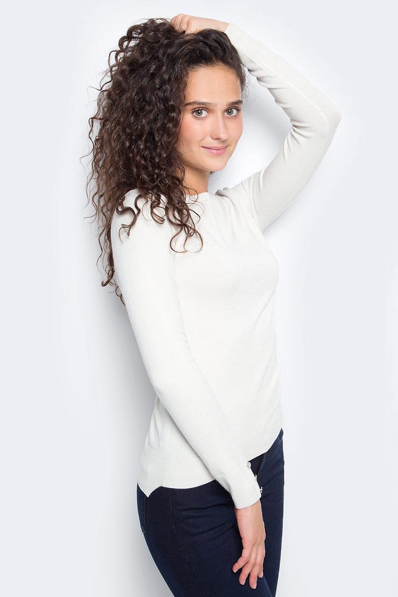 Джемпер женский Sela, цвет: светло-серый. JR-114/1218-7390. Размер L (48) все цены
