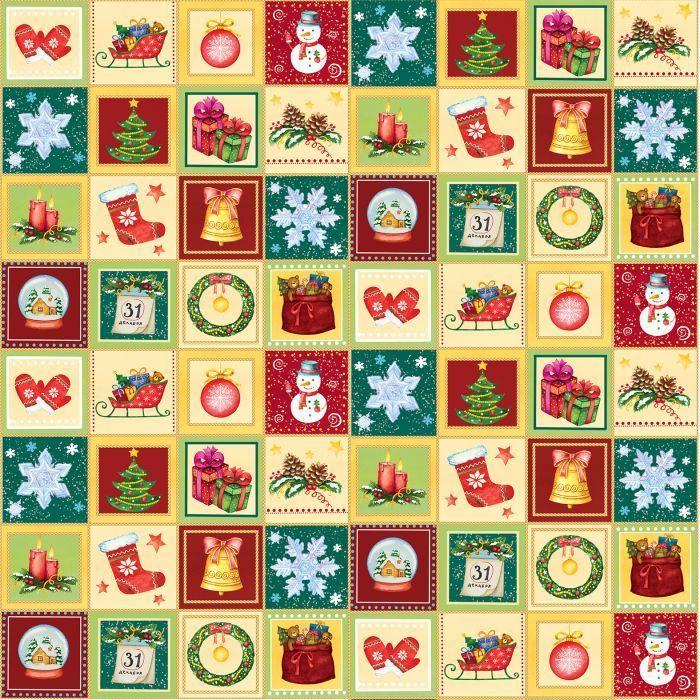 Бумага упаковочная Magic Time Новогодний калейдоскоп, мелованная, 100 х 70 см75178Упаковочная бумага для сувенирной продукции Magic Time - это стильный и практичный вариант упаковки подарка. Авторский дизайн, красочное изображение, тематический рисунок - все слагаемые оригинального оформления подарка. Окружите близких людей вниманием и заботой, эффектно вручив презент в нарядном, праздничном оформлении.