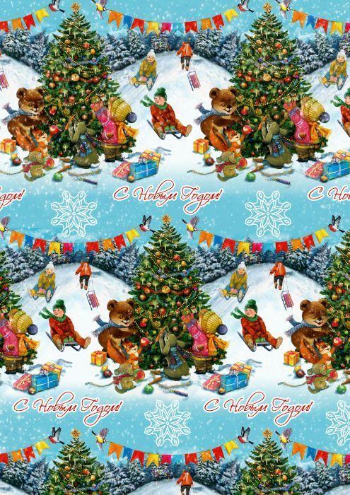 Упаковочная бумага Magic Time Новогодние гуляния, мелованная, 100 х 70 см75185Упаковочная бумага для сувенирной продукции НОВОГОДНИЕ ГУЛЯНИЯ от Magic Time - это стильный и практичный вариант упаковки подарка. Авторский дизайн, красочное изображение, тематический рисунок - все слагаемые оригинального оформления подарка. Окружите близких людей вниманием и заботой, эффектно вручив презент в нарядном, праздничном оформлении.
