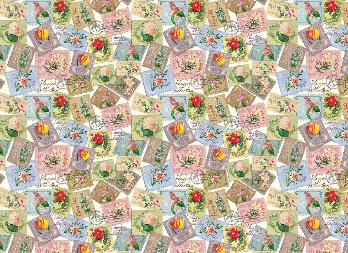 Упаковочная бумага Magic Home Марки с цветами, мелованная, 100 х 70 см75196Упаковочная бумага для сувенирной продукции Марки с цветами от Magic Time - это стильный и практичный вариант упаковки подарка. Авторский дизайн, красочное изображение, тематический рисунок - все слагаемые оригинального оформления подарка. Окружите близких людей вниманием и заботой, эффектно вручив презент в нарядном, праздничном оформлении.