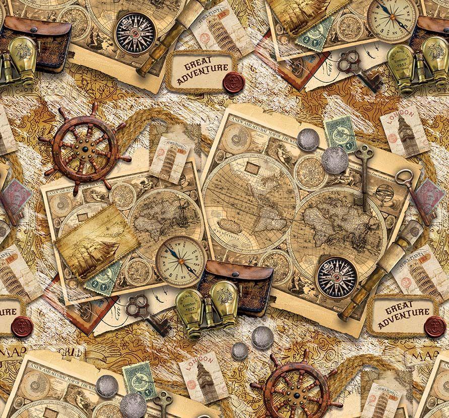 Упаковочная бумага Magic Home Старые карты, мелованная, 100 х 70 см75201Упаковочная бумага для сувенирной продукции Старые карты от Magic Time - это стильный и практичный вариант упаковки подарка. Авторский дизайн, красочное изображение, тематический рисунок - все слагаемые оригинального оформления подарка. Окружите близких людей вниманием и заботой, эффектно вручив презент в нарядном, праздничном оформлении.