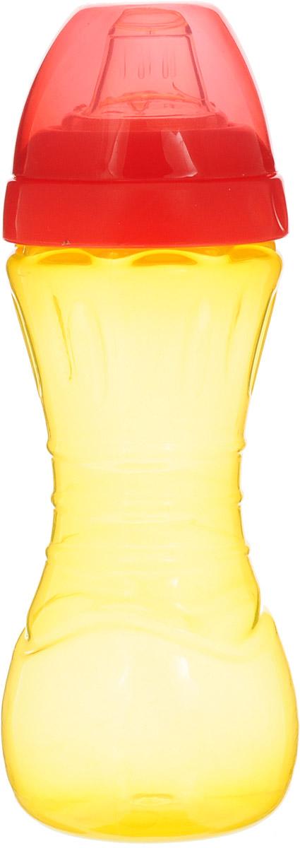 Lubby Поильник-непроливайка Суперталия от 6 месяцев цвет красный 260 мл поильники lubby непроливайка со сменным носиком малыши и малышки 150 мл