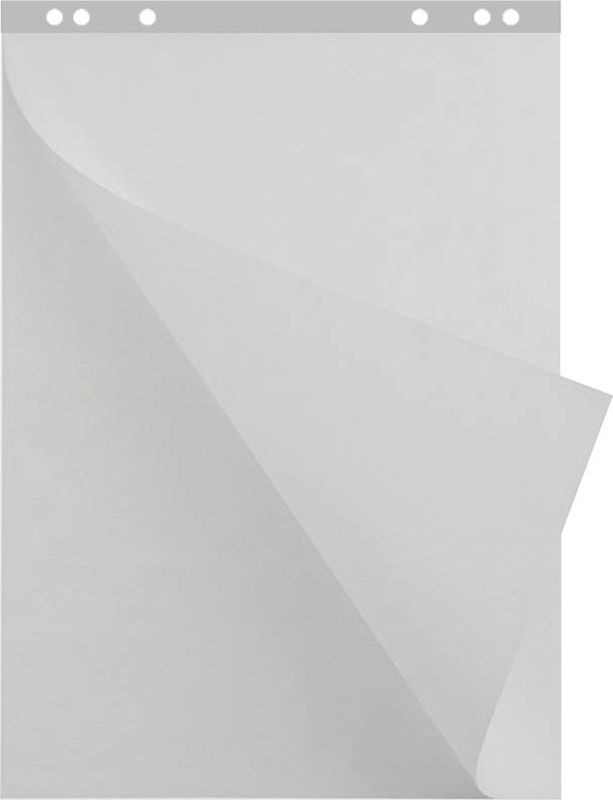 Berlingo Блокнот для флипчарта 20 листовSFb_20010Блок бумаги для флипчарта. Незаменим для проведения презентаций, тренингов. Бумажный блок имеет 6 отверстий для крепления и снабжен перфорацией на отрыв, что позволяет ровно и без труда вырвать требуемый лист. Размер 67 ? 92 см. Цвет - белый. В блоке - 20 листов. Плотность бумаги - 80 г/м?, позволяет писать фломастерами, маркерами, ручками.