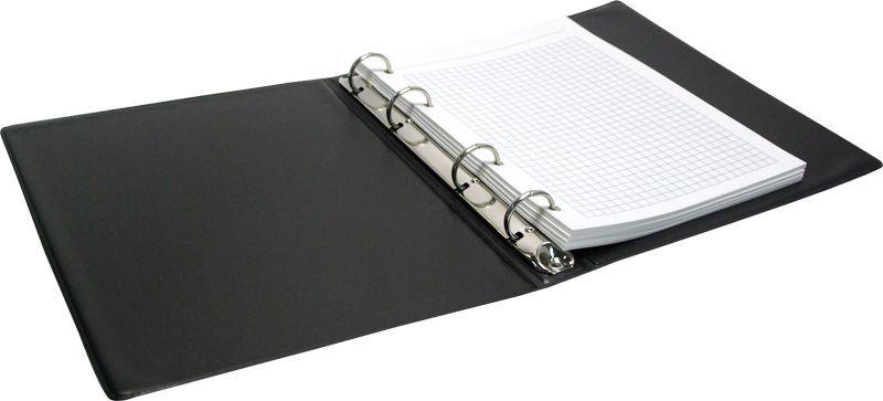 ArtSpace Тетрадь на кольцах 80 листов в клетку цвет черныйТК80пв1_520Тетрадь на кольцах ArtSpace отлично подойдет для хранения важных записей по учебе, работе или для повседневных заметок. Обложка тетради выполнена из высококачественного ПВХ. Внутренний блок состоит из 80 листов качественной офсетной бумаги в клетку и дополнен разделителем по темам. Кольцевой механизм обеспечивает удобную и быструю смену или добавление листов.