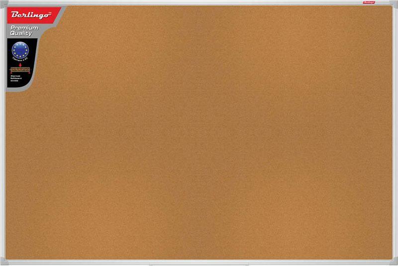 Berlingo Доска пробковая Premium 45 х 60 смSDp_02040Пробковая доска Berlingo Premium с качественным покрытием, в рамке из алюминиевого профиля. Предназначена для размещения информационных материалов с помощью силовых кнопок.В комплекте: набор креплений и силовые кнопки.