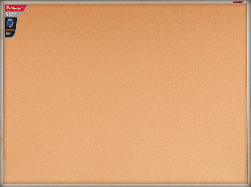 Berlingo Доска пробковая Premium 120 х 90 см -  Доски