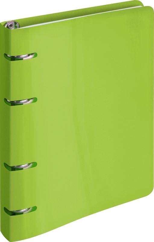 ArtSpace Тетрадь на кольцах 80 листов в клетку цвет салатовыйТК80п_10204Тетрадь на кольцах ArtSpace отлично подойдет для хранения важных записей по учебе, работе или для повседневных заметок. Тетрадь с пластиковой обложкой яркого и насыщенного цвета станет стильным аксессуаром, как в институте, так и в офисе. Вырубка под кольца тетради делает изделие еще более интересным. Внутренний блок состоит из 80 листов качественной офсетной бумаги в клетку. Кольцевой механизм обеспечивает удобную и быструю смену или добавление листов.
