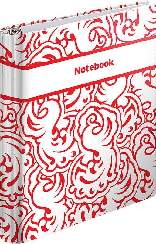 ArtSpace Тетрадь на кольцах Стильный паттерн 120 листов в клетку тетрадь flowers 120 листов на кольцах n813