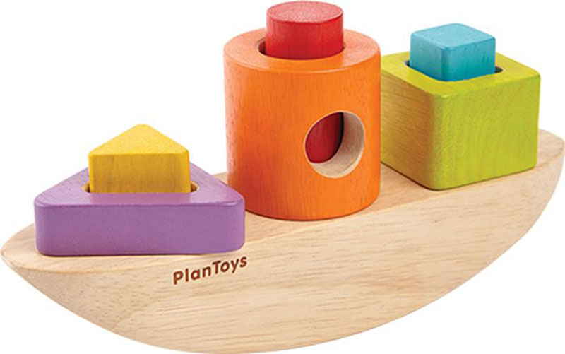 Plan Toys Сортер Лодка plan toys сортер блок для сортировки фигур