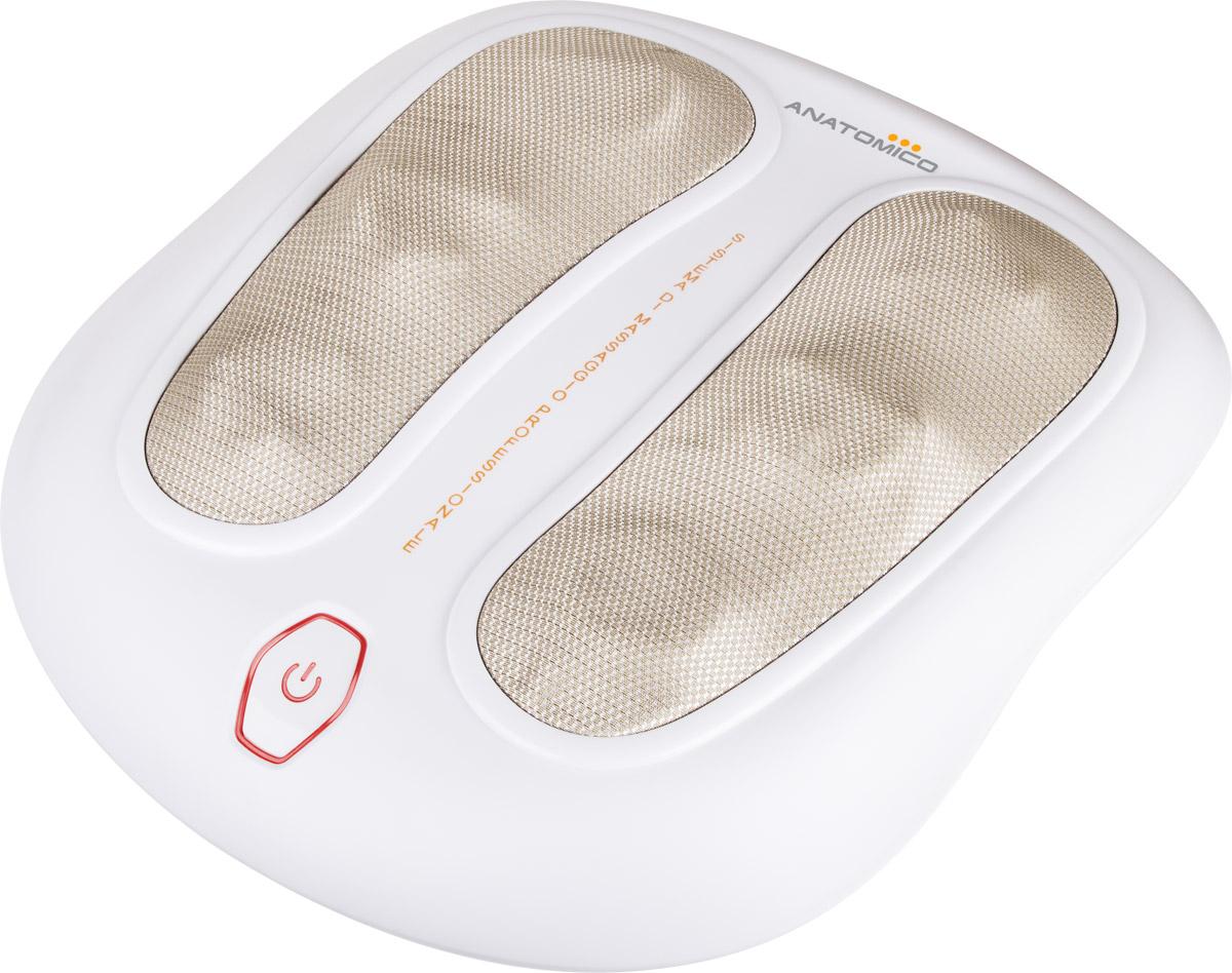Anatomico Массажер для ног Shiatsu AT-123122Anatomico AT-123 Shiatsu - массажер для ног, выполняющий технику Шиацу. Задача техники - снять напряжение и оптимизировать кровообращение организма для улучшения самочувствия.Прибор чрезвычайно прост в применении, работает от электросети и по принципу одной кнопки. Замечательный вариант для пожилых людей. Вы можете отрегулировать высоту прибора в соответствии с вашими требованиями.Массажная техника Шиацу3 уровня регулировки высоты массажераОпциональный прогрев стопРаботает от сетиДля дома и офиса